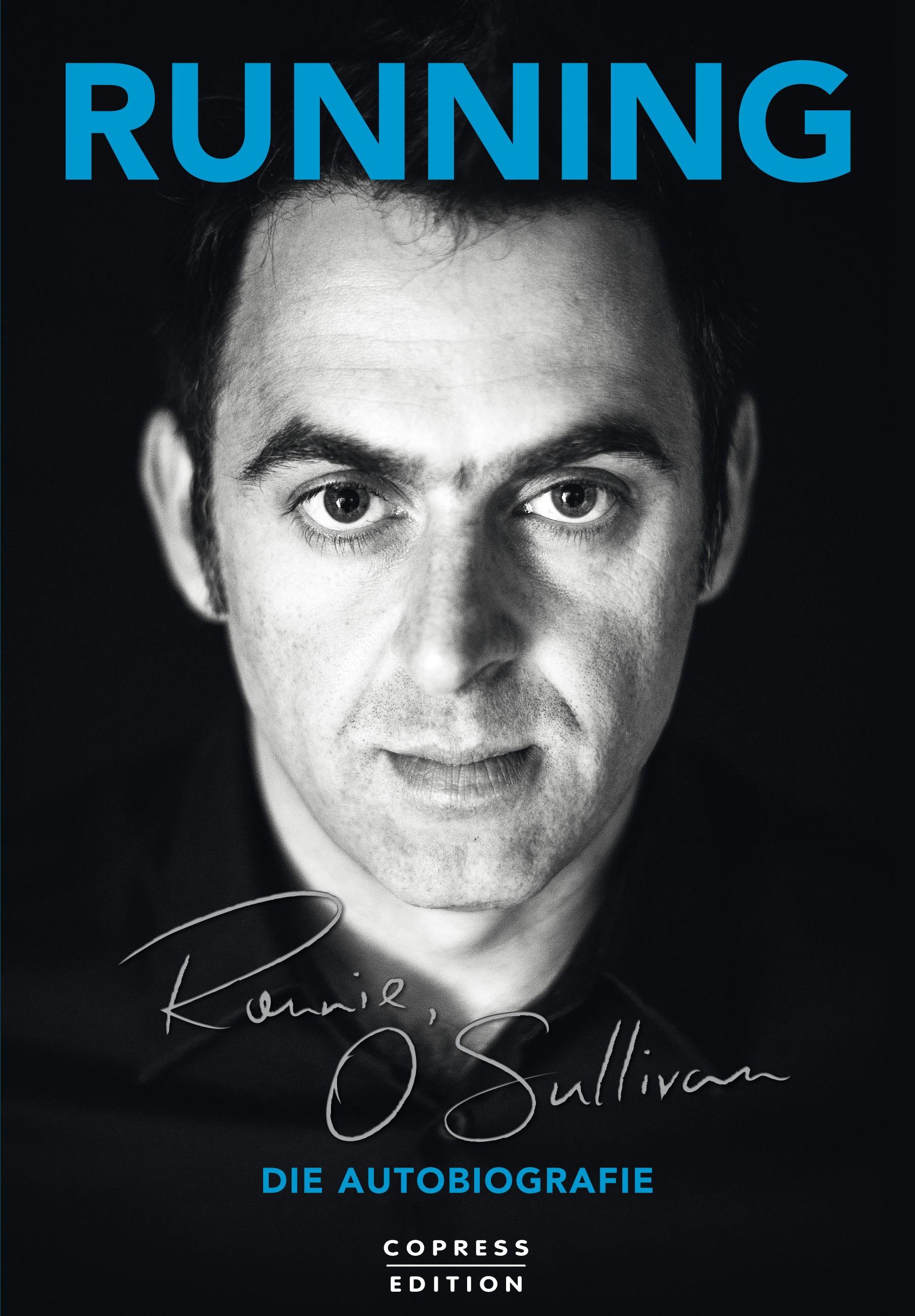 Merchandise: Running. Buch von Ronnie O'Sullivan - Signiert